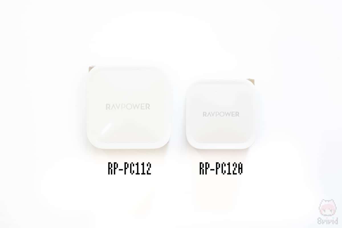 左:RP-PC112 右:RP-PC120