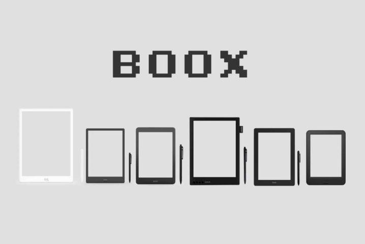 現行BOOXスペック総ざらい!画面サイズを並べて・重ねてみたぞー!