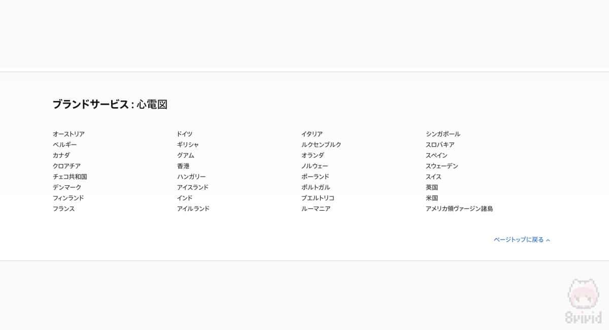 Apple WatchのECGは日本では利用不可。