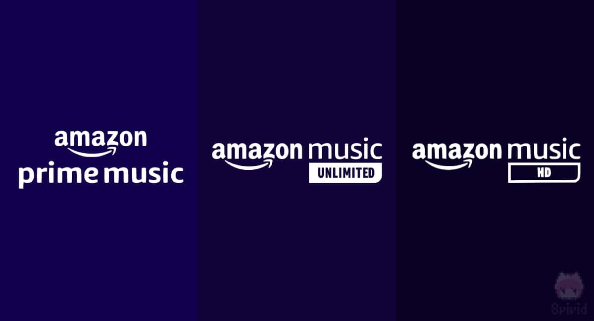 Amazon Musicは3種類