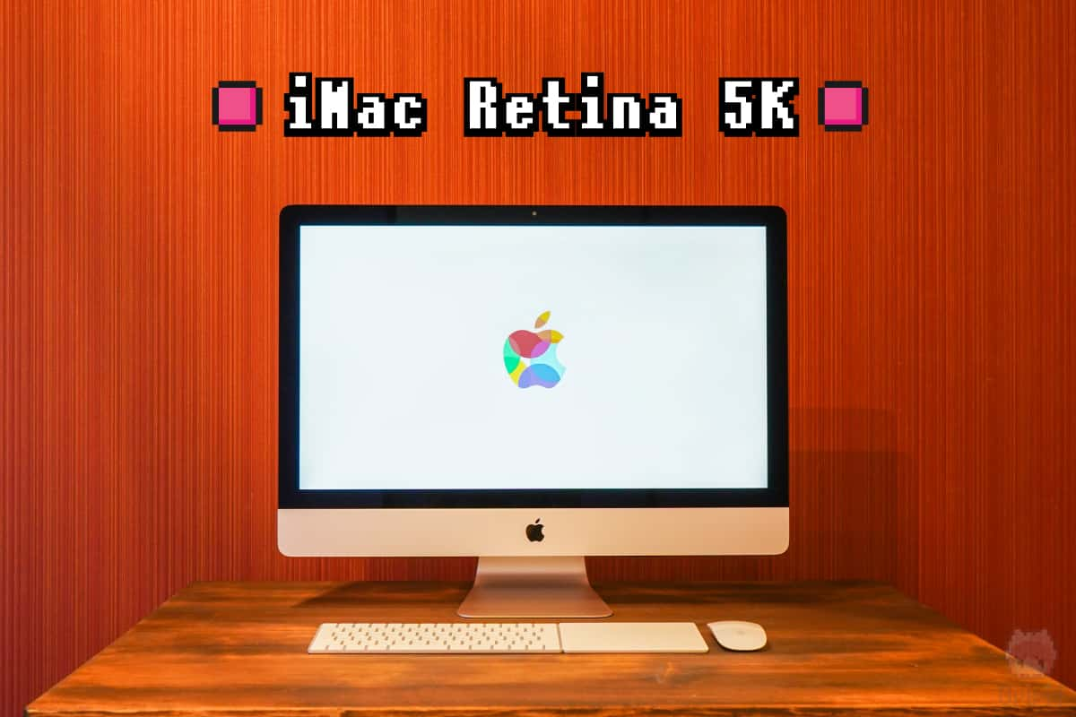 Apple『iMac Retina 5K(2019)』全体画像。