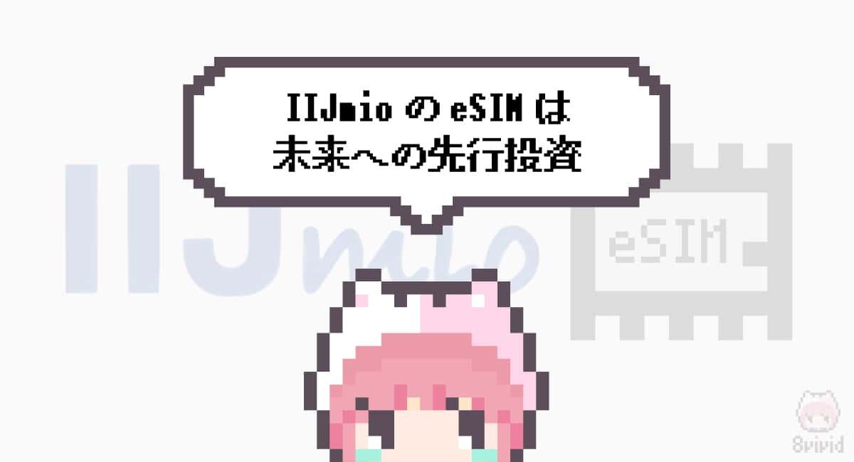 まとめ「IIJmioのeSIMは未来への先行投資」