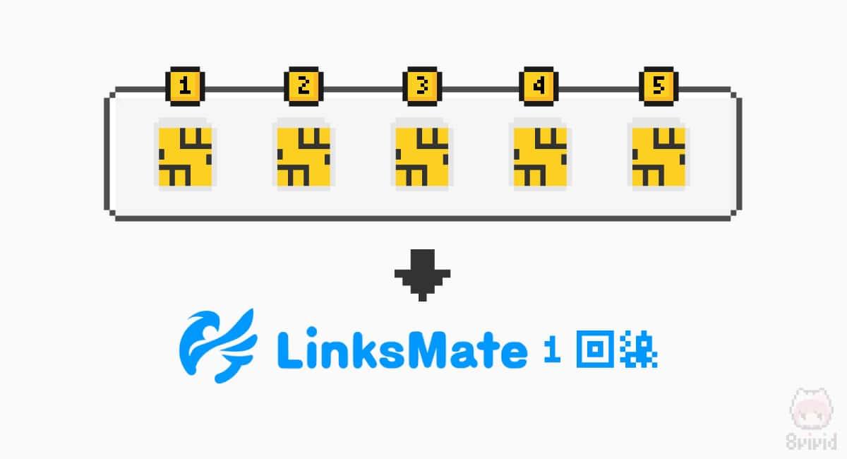 LinksMateは最大5枚までSIM発行可能。
