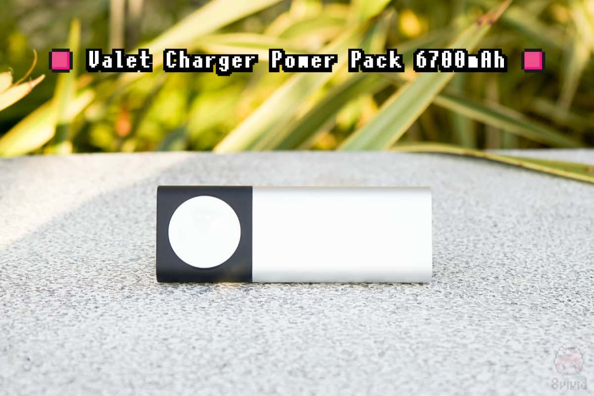 Belkin『Valet Charger Power Pack 6700mAh』全体画像。