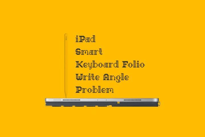 書くに不向きなiPad Pro純正キーボード(Smart Keyboard Folio)の問題点と解決策