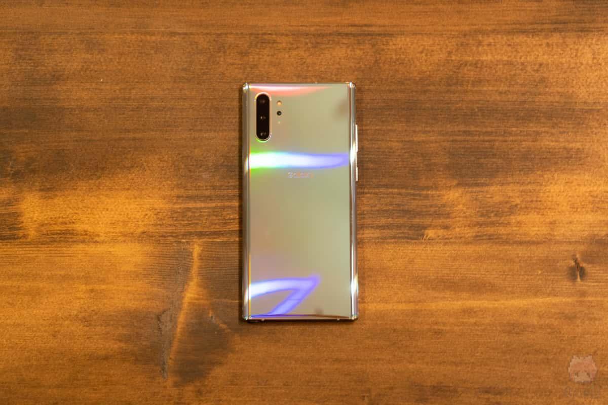 Galaxy Note10+(SM-N975C)裏面。