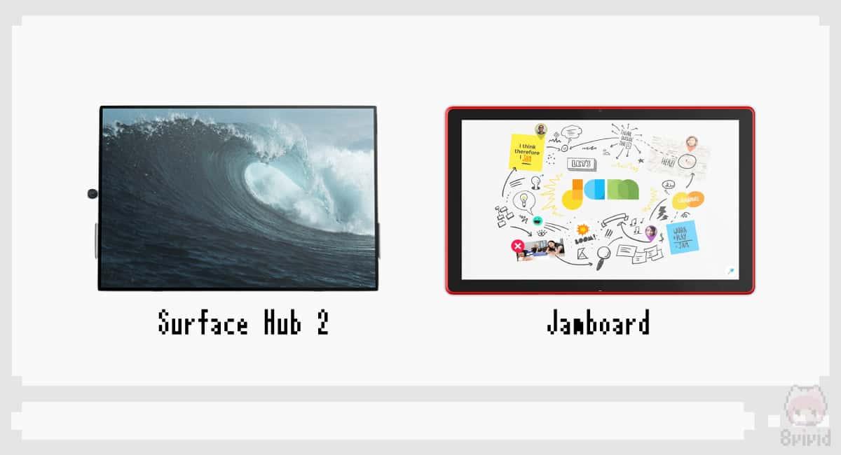 Surface Hub 2とJamboardという、ぶっ飛び電子ホワイトボード。