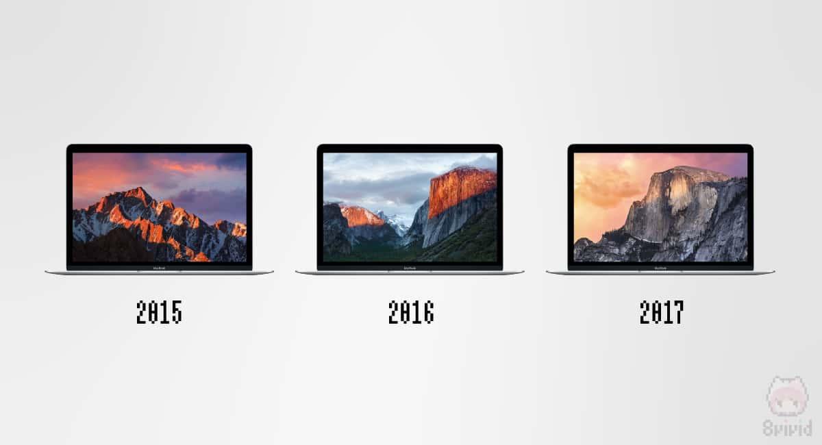 12インチMacBookは3世代で終了。