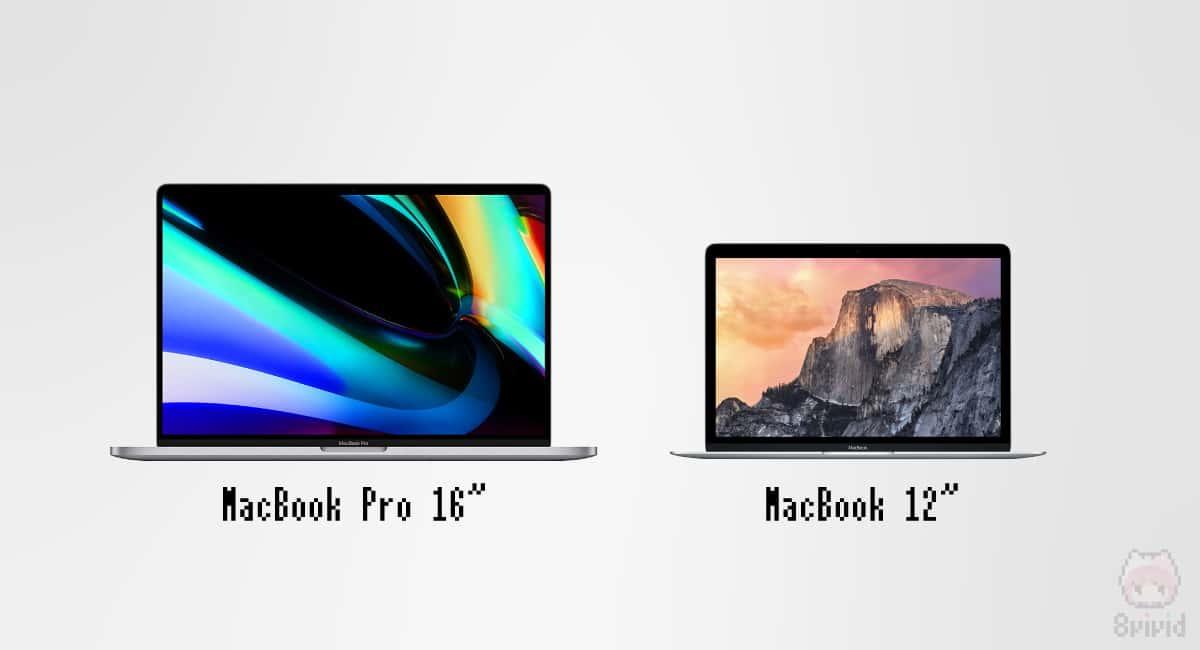16インチのサブに12インチMacBookは最高。