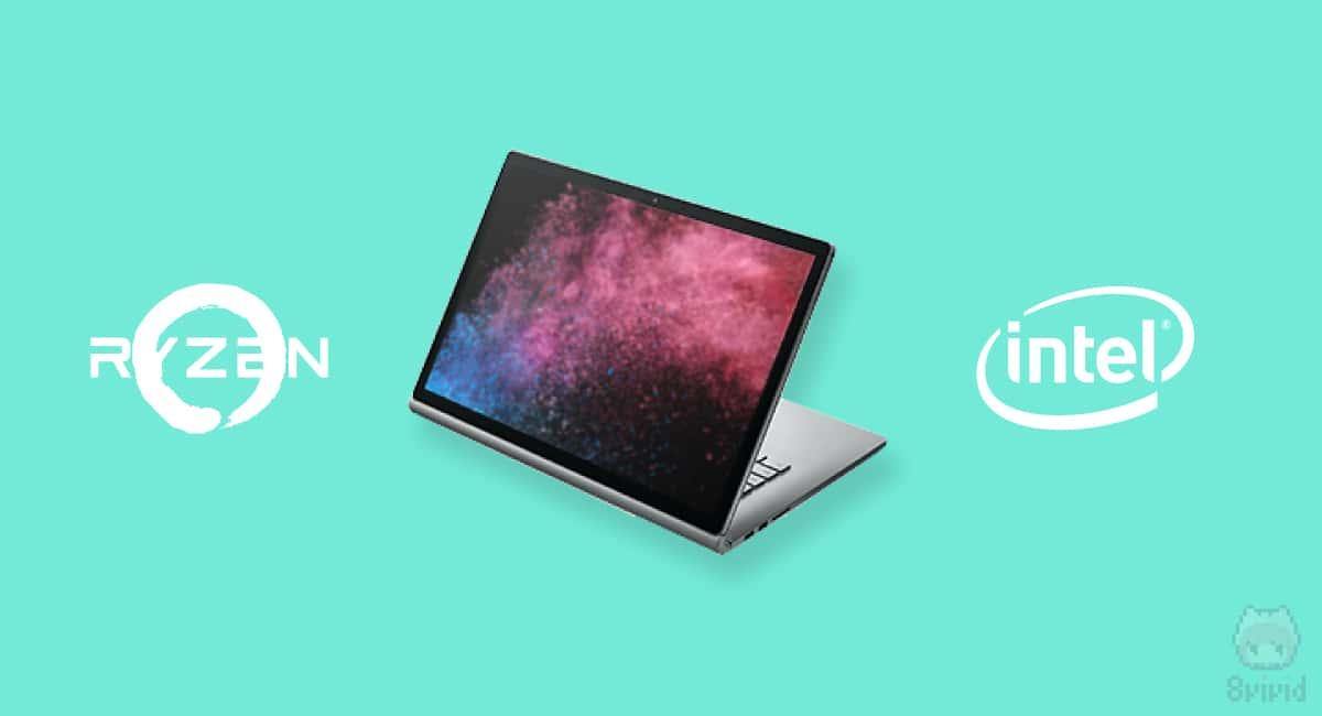 Surface Book 3のCPUは、IntelかAMDか。