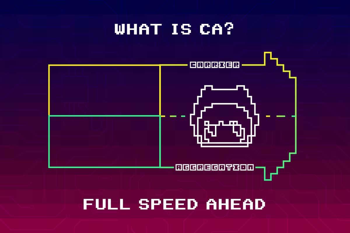 キャリアアグリゲーションとは?—通信回線の高速化・安定化を概念図を作って解説