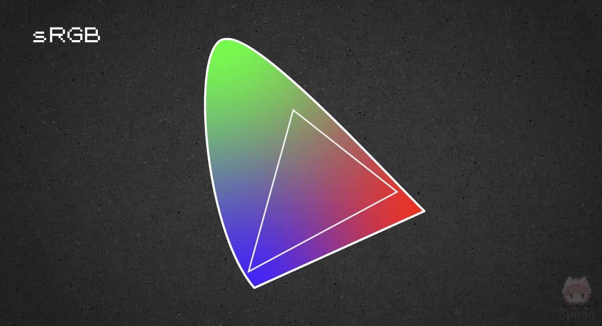 sRGB:IECが定めた国際標準規格の色域
