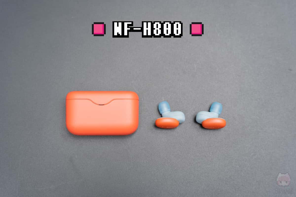 Sony『WF-H800』全体画像。
