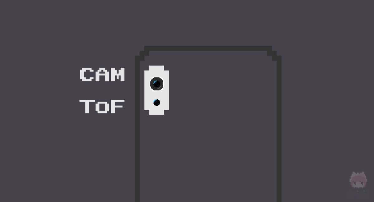 単眼カメラとToFカメラ構成になるかも?