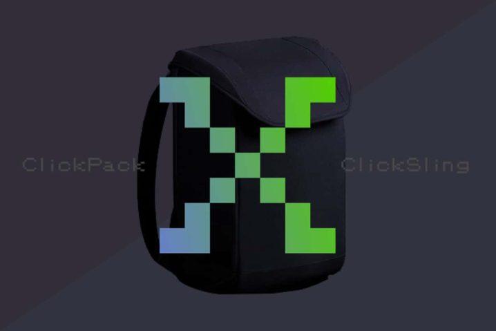 防刃&防水&防犯バックパック『ClickPack X』と『ClickSling』を支援した!