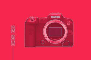 祝・EOS R5発表記念!イラレでEOS Rとの比較イメージを作ってみた!!