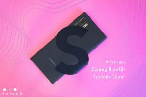 【ミニレビュー】Samsung『Galaxy Note10+ Silicone Cover』—しっとり感がたまらないノートの相棒