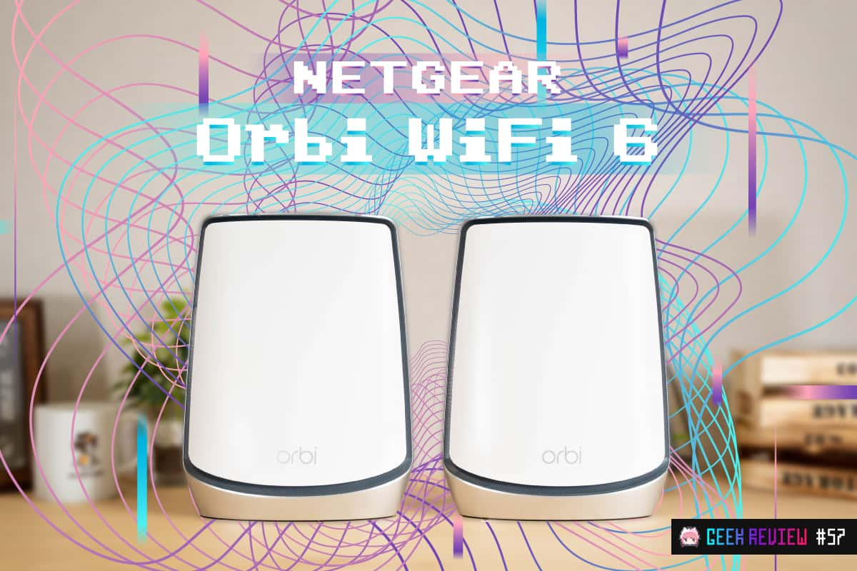 【レビュー】NETGEAR『Orbi WiFi 6』—死角ナシ!Wi-Fi 6対応トライバンドメッシュWi-Fiルーターの最高峰降臨[PR]