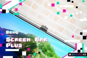 【レビュー】BenQ『Screen Bar Plus』—画期的!目に優しいUSB駆動のデスクライト[PR]