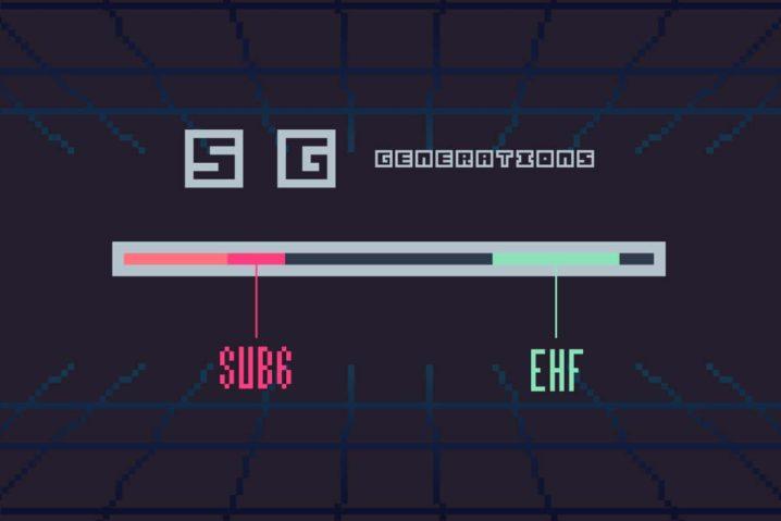 5G時代のキーワード『Sub6』・『ミリ波』とは?—違いは使われる周波数帯にあった