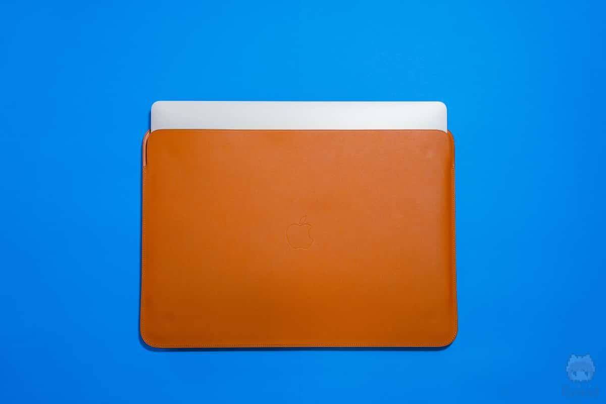 MacBook Pro 16インチを収納してみた。