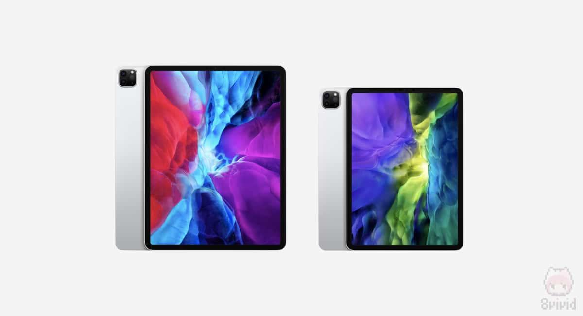 左:12.9インチiPad Pro(第4世代) 右:11インチiPad(第2世代)