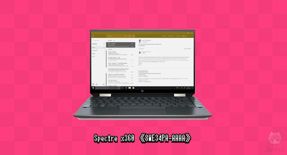 HP『Spectre x360《8WE34PA-AAAA》』