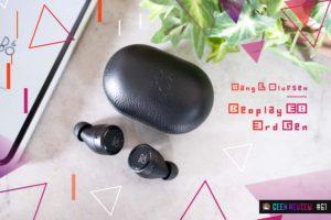 【レビュー】Bang & Olufsen『Beoplay E8 3rd Gen』—ハイテクとラグジュアリーの融合した美しきTWS