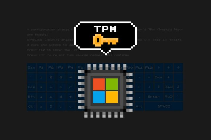 """Windows 10初期設定時の""""謎の黒画面""""はTPMクリア。[ F12 ]でクリア・[ Esc ]で非クリア"""