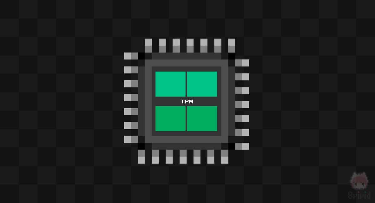 『TPM』はセキュリティーのカギのようなICチップ。