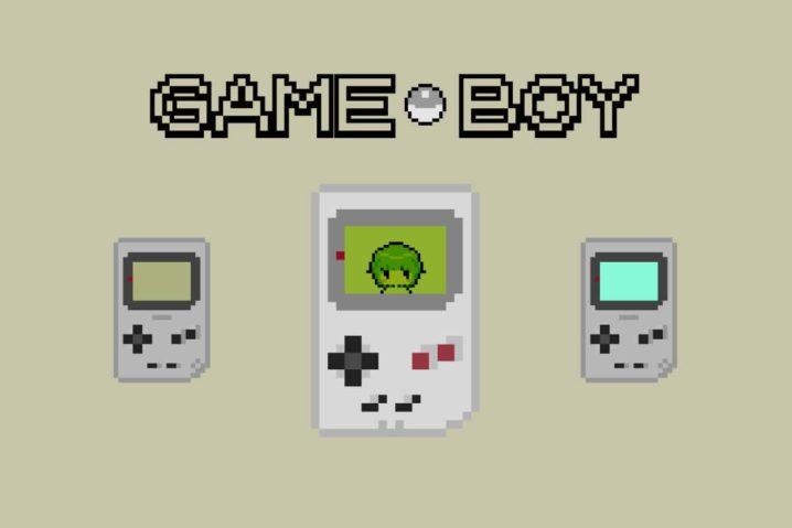 4月21日は『ゲームボーイの日』なので、ドット絵を作って懐古話