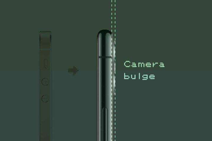 "iPhoneリアカメラ""出っ張り""理由の考察とペリスコープ構造"