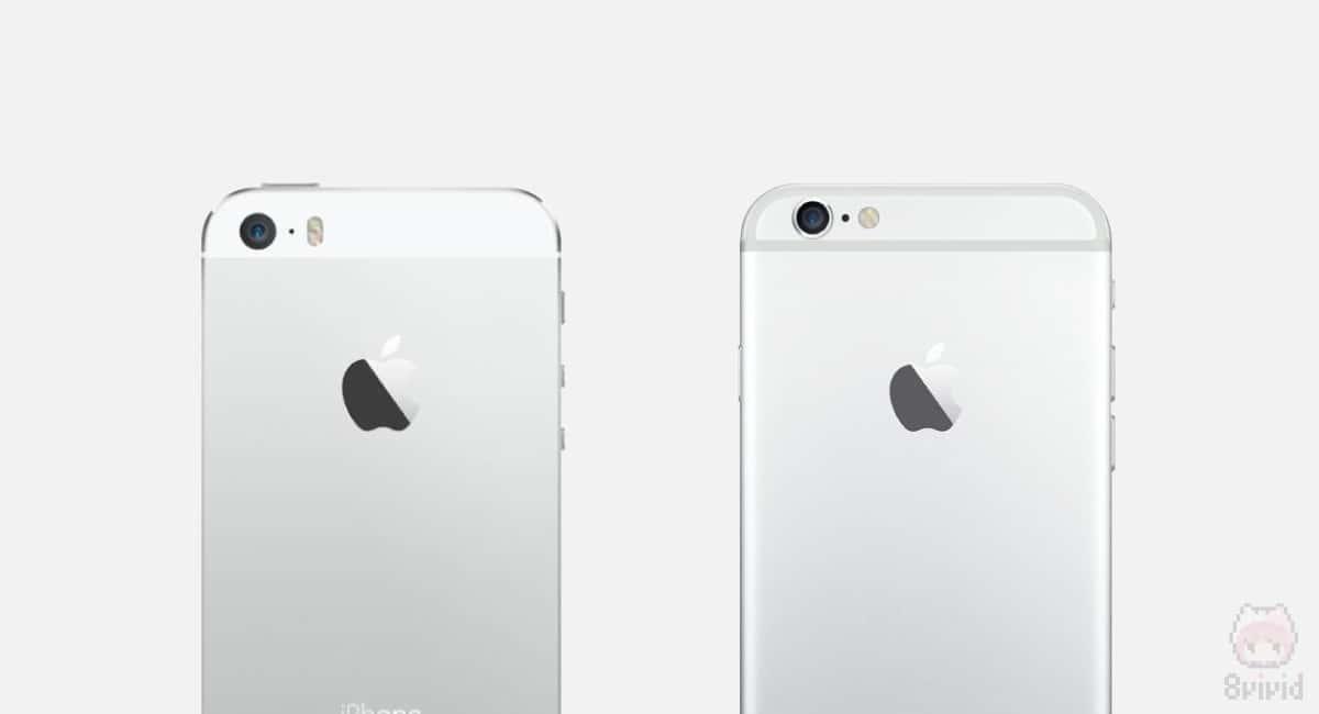 iPhone 5sとiPhone 6のカメラを比較。