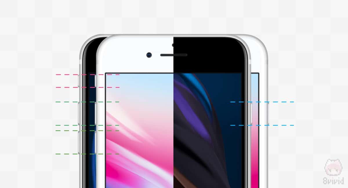 iPhone 8のケースが流用できる…かも!?