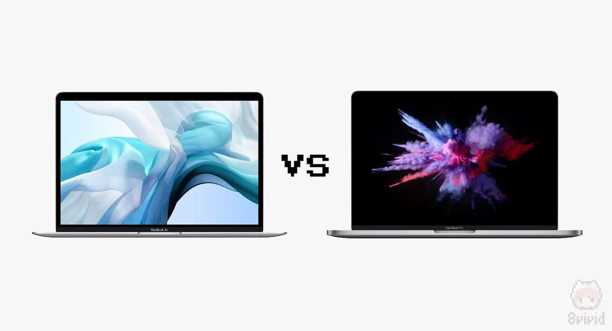 MacBook Air vs MacBook Pro。