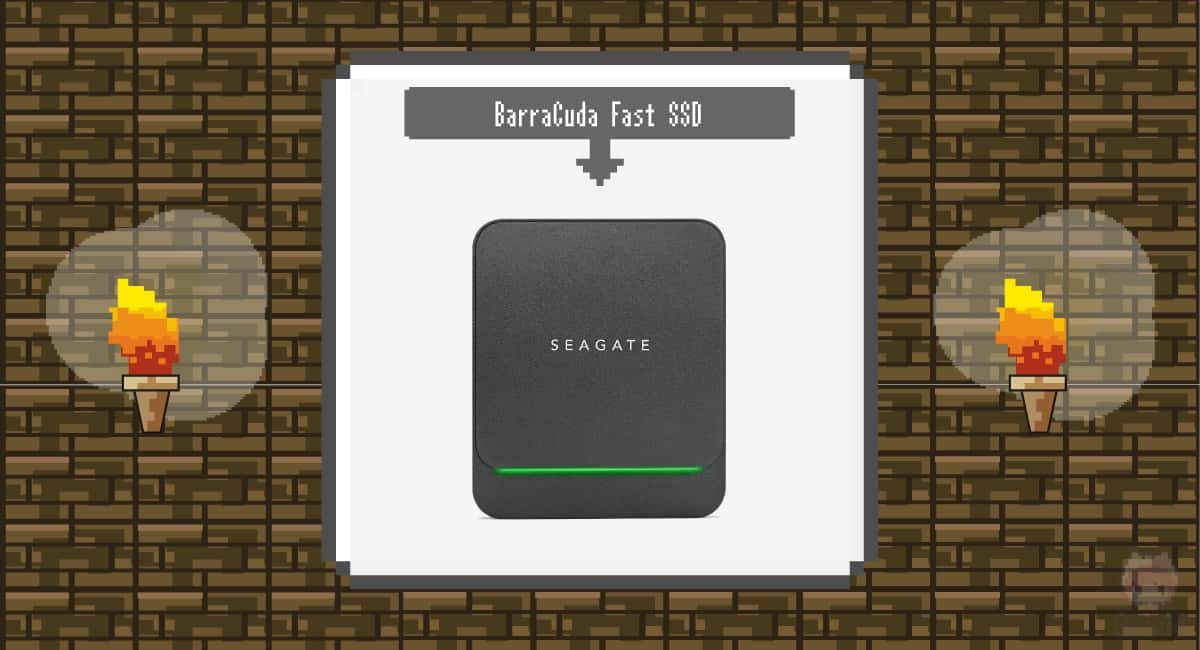 Seagate『BarraCuda Fast SSD』