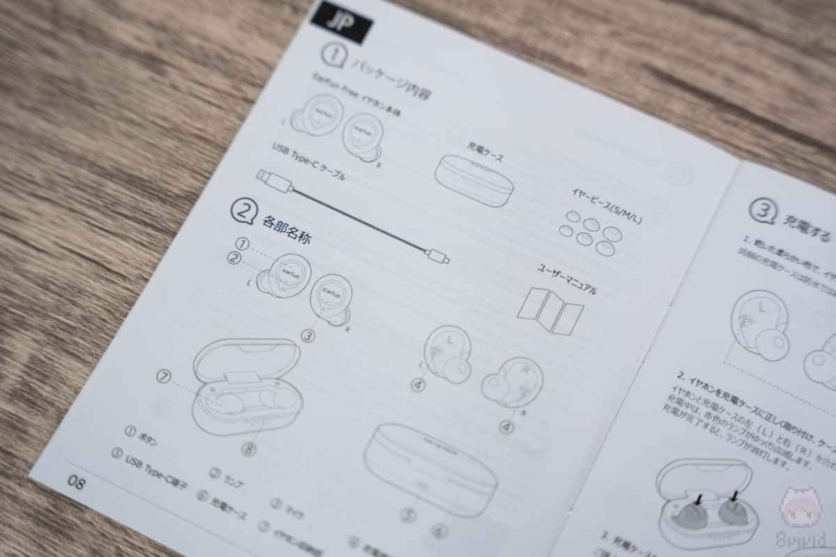 ユーザーマニュアルは日本語化済。