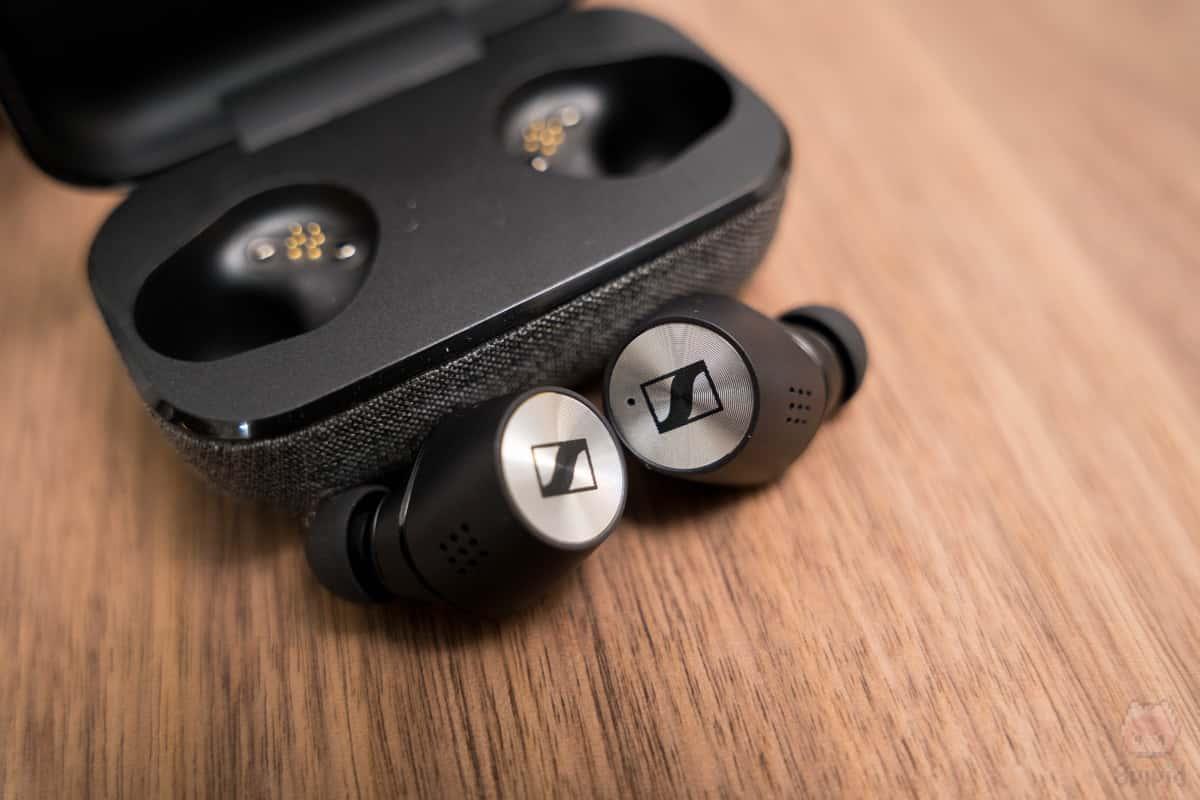MOMENTUM True Wireless 2の外音取り込み機能は有用。