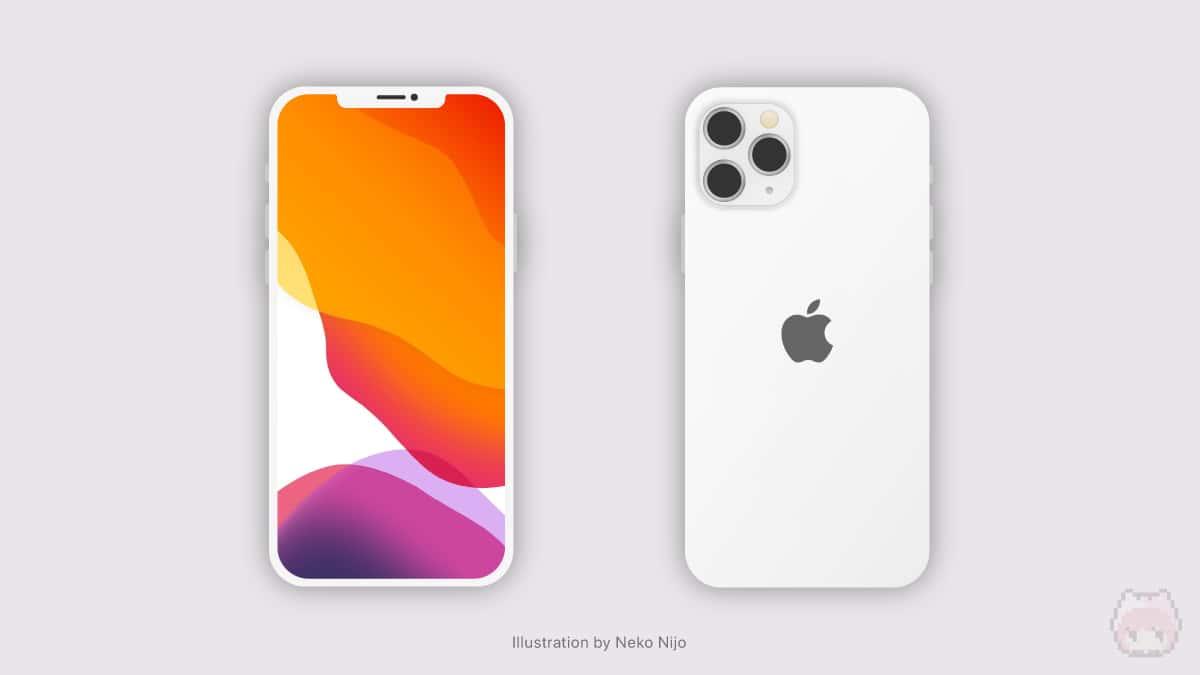 iPhone 12 Miniの自作デザイン。
