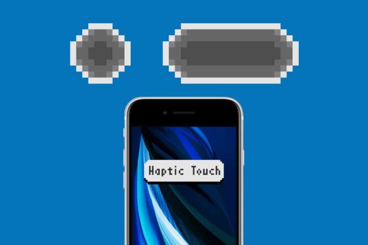 iPhone SE(第2世代)とHaptic Touch無効化の検証と謎