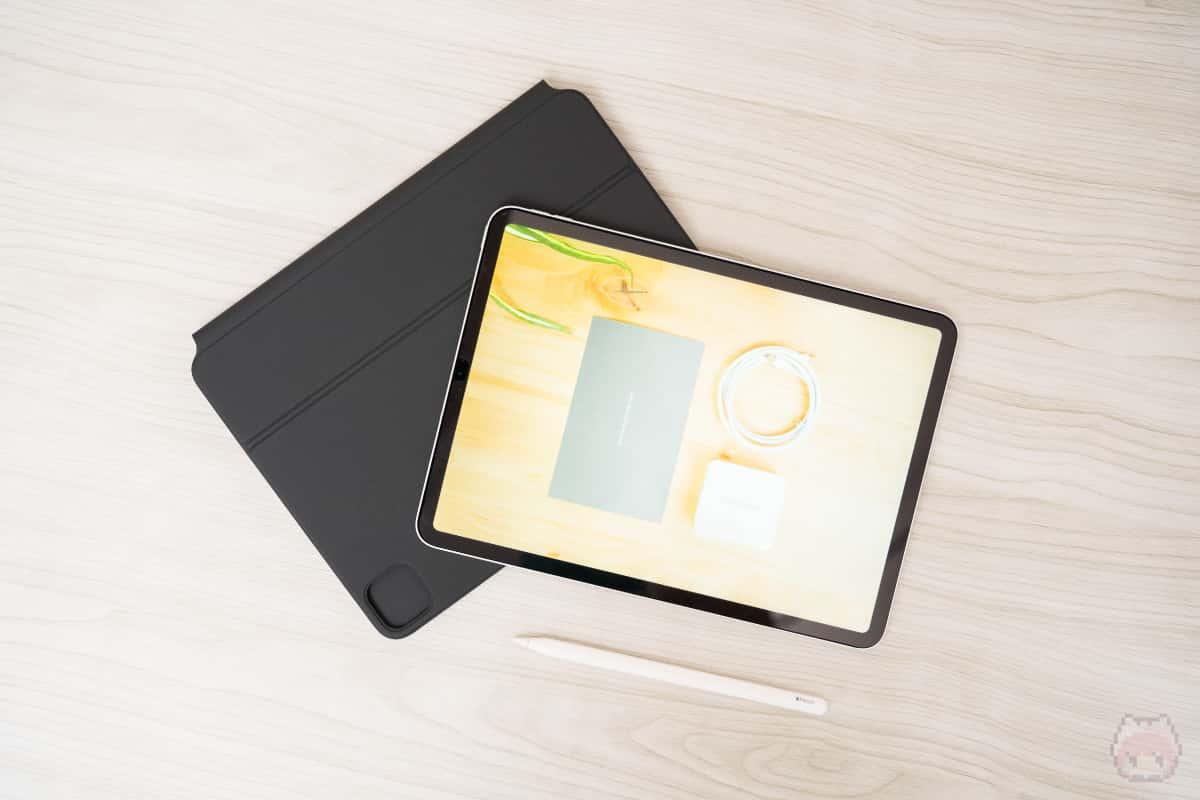 Apple Pencilを利用する場合は、iPad Pro単体利用すべき。