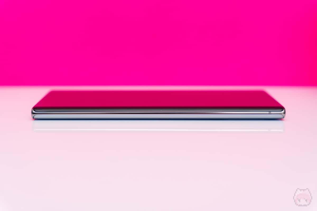 Galaxy Note10+右側面。