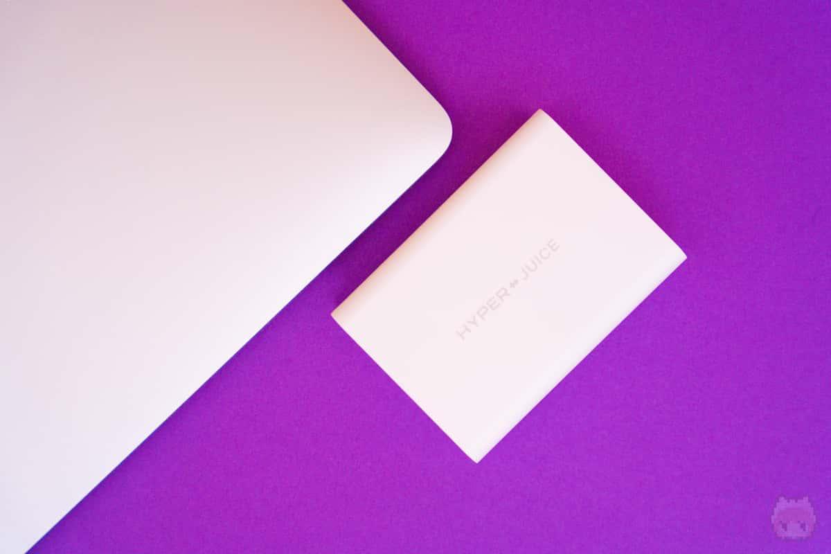 MacBook Pro 16インチも充電可能。