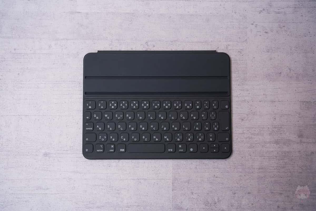 Smart Keyboard Folio(2nd Gen)キーボード面。