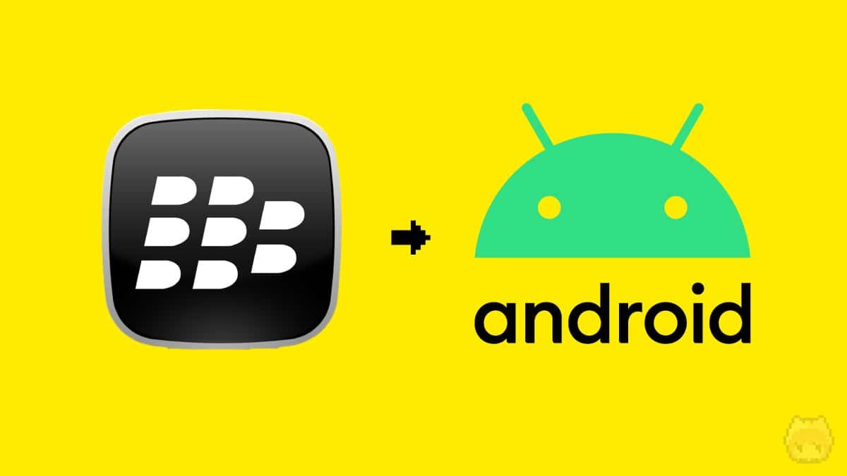 BlackBerryの搭載OSは、独自OSからAndroidに変化。