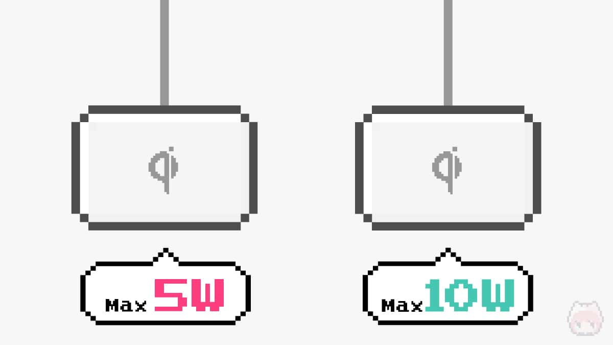 【ポイント2】最大何W出力で充電可能なのかを見る