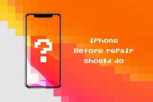 iPhoneを修理に出す前にやっておくべき7つの事項