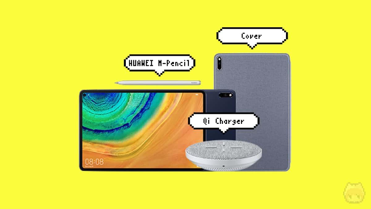 Huawei公式ショップで4点セットを購入。