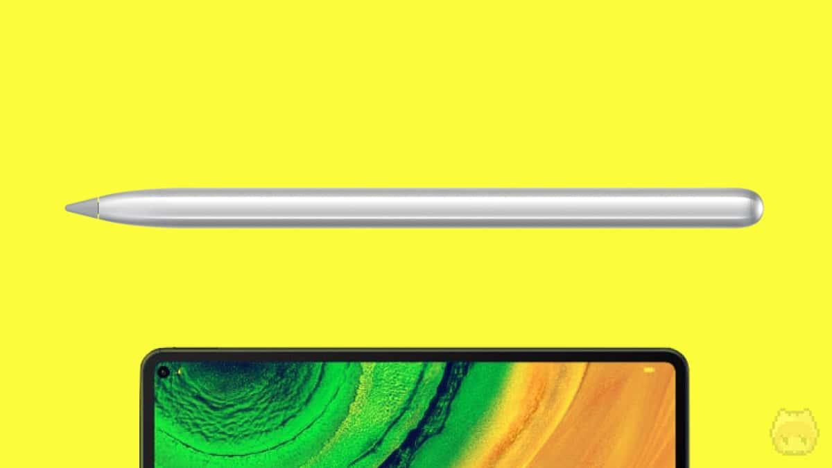 HUAWEI MatePad Proは『HUAWEI M-Pencil』に対応。