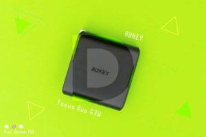 【レビュー】AUKEY『Focus Duo 63W《PA-D5》』—GaN!小型で63W出力のUSB PD充電器